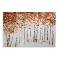 Arthouse Copper Birch Canvas Wall Art