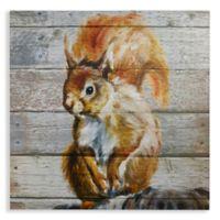Arthouse Tufty Wood Canvas Wall Art