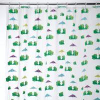InterDesign® Frogs EVA Shower Curtain