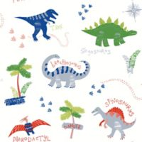 Imagine Fun Dino Doodles Multi Wallpaper