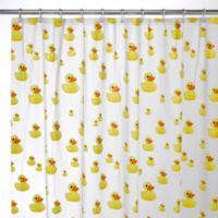 InterDesignR Ducks EVA Shower Curtain