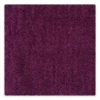 Safavieh California Shag 6-Foot 7-Inch x 6-Foot 7-Inch Irvine Rug in Purple