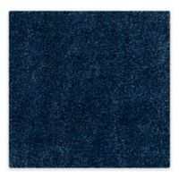 Safavieh California Shag 6-Foot 7-Inch x 6-Foot 7-Inch Irvine Rug in Navy