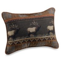 Croscill® Caribou Boudoir Throw Pillow