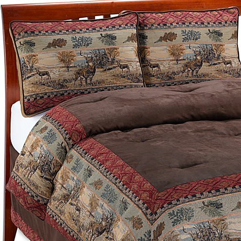 Deer Valley Comforter Set By Croscill Bed Bath Amp Beyond