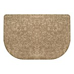 Home Dynamix Gentle Step 20-Inch x 30-Inch Embossed Scroll Mat in Beige