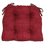Summit Suede Waterfall Chair Pad in Mulberry