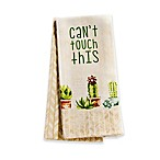 """Can't Touch This"" 2-Pack Cactus Kitchen Towels"