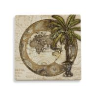 Thirstystone Old World Map Coaster Set (Set of 4)