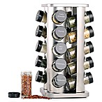 Orii™ Gourmet Rivetto 20-Jar  Lazy Susan Spice Rack