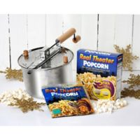 Wabash Valley Farms™ Whirley Popcorn Maker & Movie Theater Popcorn Popping Kits