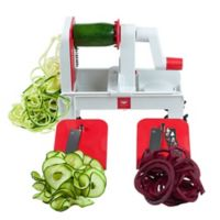 Paderno World Cuisine Tri-Blade Hand-Held Spiralizer