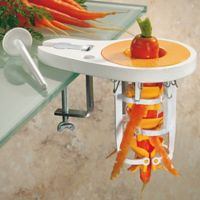 Paderno Carrot Peeler in White