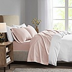 Madison Park 3M Microcell King Sheet Set in Blush