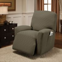 Newport Recliner Stretch Slipcover in Sage