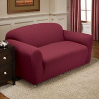 Newport Sofa Stretch Slipcover in Brick