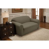 Newport Sofa Stretch Slipcover in Sage