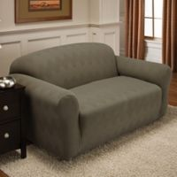 Optic Sofa Stretch Slipcover in Sage