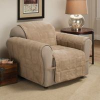 Ultimate Faux Suede Chair Protector in Natural