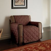 Microfiber Ultimate Chair Protector in Chocolate