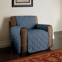 Microfiber Ultimate Chair Protector in Slate Blue