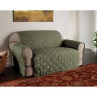 Microfiber Ultimate Loveseat Protector in Sage
