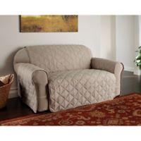 Microfiber Ultimate Sofa Protector in Natural