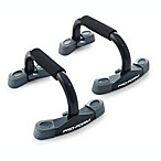 ProForm® Contoured Push-Up Stands in Black (Set of 2)