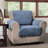 Puff Chair Protector in Blue