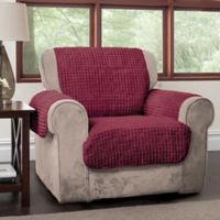 Puff Chair Protector in Burgundy