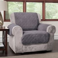 Puff Chair Protector in Grey