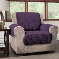 Puff Chair Protector in Purple