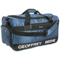 "Geoffrey Beene 24"" Embroidered Duffle Bag in Blue"