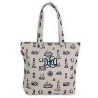 CB Station 14.5-Inch Waterfront Tote in Navy