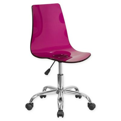 buy purple office chair from bed bath & beyond