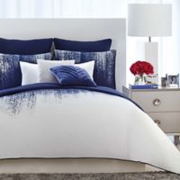 Vince Camuto® Twin XL Lyon Comforter Set in Blue/White