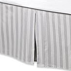 Wamsutta® 500-Thread-Count PimaCott® Damask Queen Bed Skirt in Silver
