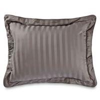 Wamsutta® 500-Thread-Count PimaCott® Damask Standard Pillow Sham in Grey