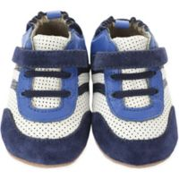 Robeez® Size 3 Everyday Ethan Mini Shoez in Navy