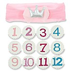 Capelli New York 13-Piece Infant Interchangeable Birthday Girl Crown Set