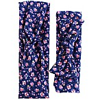 Tiny Treasures Navy Floral Mommy and Me Headband Set