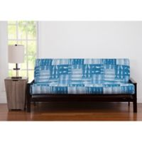 Pologear American Vintage Queen Futon Cover In Blue