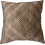 Sarah Pintuck  European Pillow in Taupe