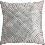 Sarah Pintuck  European Pillow in Silver