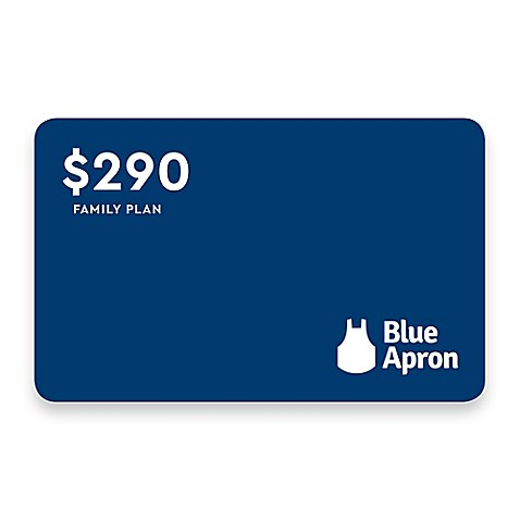 image of Discover Dinner with Blue Apron: Family of 4, $290 Meal Credit