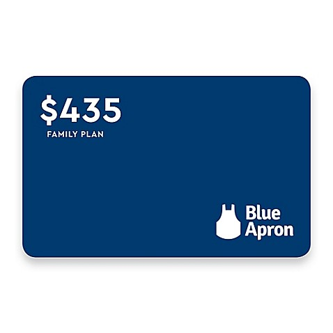 image of Discover Dinner with Blue Apron: Family of 4, $435 Meal Credit
