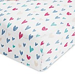 aden® by aden + anais® Summer Soiree Cotton Muslin Crib Sheet in Teal