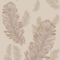 Imagine Precious Metals Sirius Wallpaper in Rose Gold