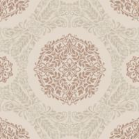 Imagine Precious Metals Timour Copper Wallpaper
