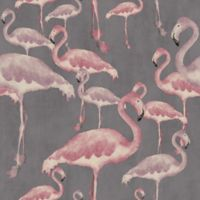 A Shade Wilder Flamingo Beach Marshmallow Wallpaper